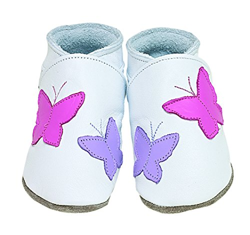 Chaussons Flutterbye White 12-18 Mois