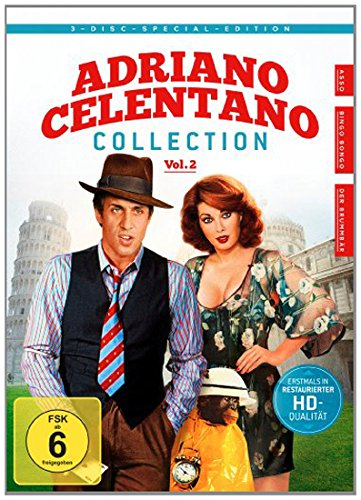Bild von Adriano Celentano - Collection, Vol. 2 [Special Edition] [3 DVDs]