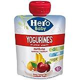 Hero Baby - Yogurines Multifrutas, 80 g - [Pack de 18]