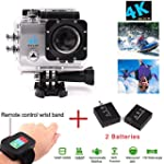 4K Action Camera, 2,0 pouces Ultra HD...