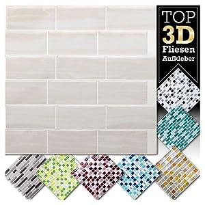 Fliesenaufkleber Mosaik 3d 15 15 Deine Wohnideen De
