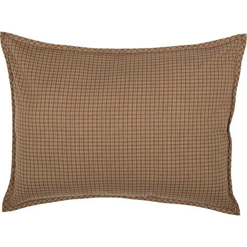 VHC Brands Sham, 100% Baumwolle, grün, Standard