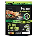 (Pack Of 8) Ugg Foods - Large Chia Seed and Nut Bread - (344g)