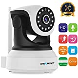 Wireless WiFi IP Security Camera - GENBOLT Pan Tilt Spy Camera 720P indoor Dog Camera for Home Surveillance, Two Way Audio Motion Detection Remote Security Webcam, Dog Cam, Baby Monitor Including 40 Feet Night Vision, Free Mount Brackets, 128GB Storage(Max Support), 3 dBi Antenna, 355 Degree View Angle, 2 Megapixel Lens, Heavy-Duty Housing, 1000+ Instagram Likes, 24-Hour Customer Support, 30-Day Money Back Guaranteed, 2-Year Warranty