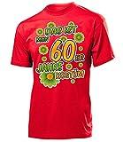 60er Jahre Kostüm Herren T-Shirt Mottoparty Schlagerparty 791 Karneval Fasching Faschingskostüm Karnevalskostüm Paarkostüm Gruppenkostüm Motto Rot M