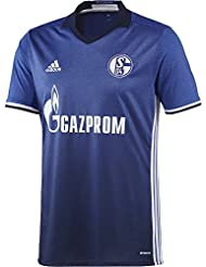 adidas Herren Fußball/Heim Schalke 04 Replica Trikot