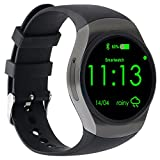 Best AGPtek Bluetooth For Samsungs - AGPtEK KW18 Bluetooth Smart Watch Phone, 1.3 inches Review