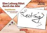 Eine Leitung führt durch das Jahr: Impulskarten mit inspirierenden Ideen fürs Kita-Team. 20 Bildkarten