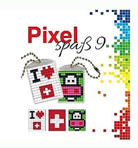 Pracht Creatives Hobby P90048-00505 - Juego de Manualidades para Manualidades (9 medallones, Llavero, para niños, niños y niñas, como pequeño Regalo, para cumpleaños Infantiles)