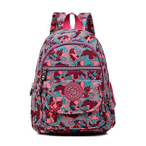� Tasche Canvas Damen Rosa Handtasche Damen Schultertasche Crossbody Bag Shopper für Schule Shopping Arbeit Einkauf -Schwarz ()
