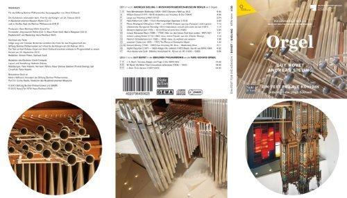 Ein Fest für die Königin mit Guy Bovet (Schuke-Orgel der Philharmonie) und Andreas Sieling (5 Orgeln des Musikinstrumenten-Museums Berlin). Doppel-CD mit Booklet.