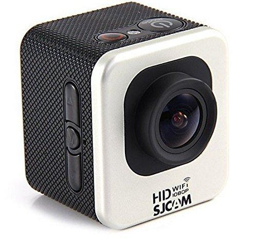 Videocamera Sportiva Subacquea SJCAM M10 WiFi (SJ4000 WiFi Mini Edition) Action Cam Sport Camera 2K 30FPS Waterproof Full HD 1080p Video White Color