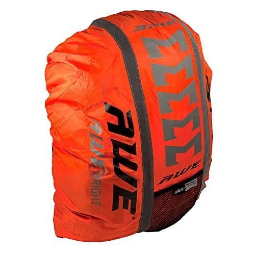 AWE® AWEBright™ High Viz Waterproof Rucksack Backpack Cover Orange