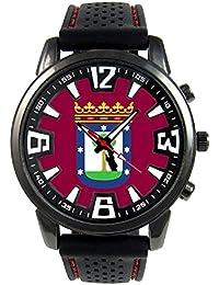 Madrid España Reloj para hombre con correa de silicona