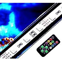 LDFN Luces A Prueba De Agua Del Acuario Luces De Buceo Iluminación Del Acuario Iluminación Del Tanque De Peces Decorativos De Varios Tamaños,94cm