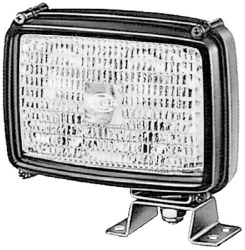 HELLA 1GA 006 991-041 Arbeitsscheinwerfer Double-Beam FF für Bodenausleuchtung, Anbau/ Bügel hängend/ stehend, 12V/24V