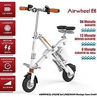AIRWHEEL E6bicicleta eléctrica S de bicicleta con motor Mini E-Bike bicicleta plegable para mujer hombre blanco