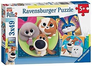 Ravensburger 4005556050147 - Puzzle, cascabeles Infantiles, niños y niños de 3 años, Juguete, Juguete, Animal, Gato, Perro, 49 Piezas