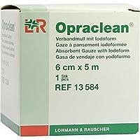 OPRACLEAN Verbandmull m.Jodoform 6 cmx5 m 1 St Wundgaze preisvergleich bei billige-tabletten.eu