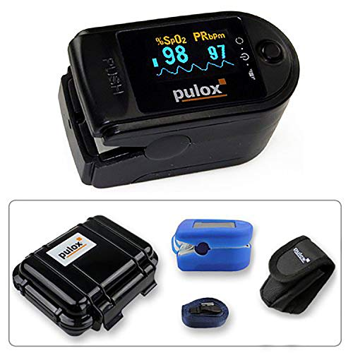 Pulsoximeter PULOX PO-200 mit OLED-Anzeige * Farbe: schwarz * PZN:3314928