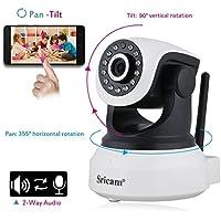 MARVTEK Sricam SP017 IP WiFi P2P Cámara de Video Vigilancia HD 720P con IR-LED
