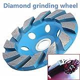 Jeephuer Modern Diamant Rad 4 Zoll 6 Loch Diamant Segment Schleifen Tasse Rad Disc Grinder Granit Stein Schleifen