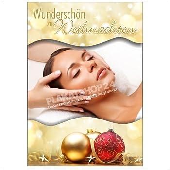 Nageldesign-Poster Werbeplakat Plakat Weihnachten