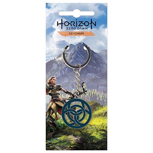 Preisvergleich Produktbild Horizon Zero Dawn - Metall Schlüsselanhänger - Logo