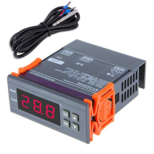 KKmoon Thermostat, 200-240V Numérique Contrôleur de température Thermocouple de -40℃ à 120℃ avec Capteur
