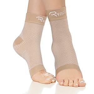 RYACO Kompressionsstrümpfe für Damen Herren Sport Medizinisch, Plantarfasciitis und Fußgelenk Bandage/Fersensporn Bandagen/Fersensporn Socken für effektive Kompression beim Laufen & Trainieren