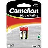 Camelion 11000201 Plus Alkaline Batterie N/LR1/Lady (2er-Pack) silber