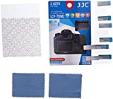 JC LCP-7DM2 2PCS Low Reflection Anti-smudge High Transmission Perfect Cutting LCD Guard Film Display Screen Protector For Canon EOS 7D Mark II 7DM 2 Camera