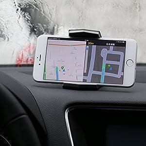 CONMDEX Supporto per culla dell'automobile per Universal Car Mount Universal Unibody Disegnare il supporto per iPhone7 / iPhone7 Plus / iPone SE / Samsung Galaxy S8 e altri smartphone (bianco)