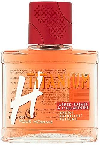 H pour Homme Après Rasage Flacon Titanium