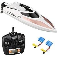 Virhuck Rc Boot, Electric Racing Boot, Fernbedienung Boot mit hoher Geschwindigkeit Wasserdicht für Beginners Pools und Seen und Outdoor Adventure