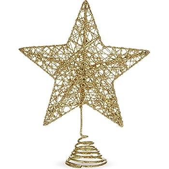 Gisela Graham Gold Glitter Albero Top Fata