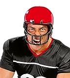 Atosa-49315 Casco Rugby Rígido Futbol Americano, Color Rojo (49315)