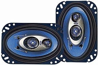 Pyle PL463BL 4-Inch x 6-Inch 240-Watt Three-Way Speakers