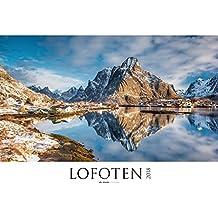 Lofoten 2018 - Nordmeer / Norwegen - Bildkalender XXL (64 x 48) - Landschaftskalender - Naturkalender