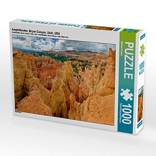 Amphitheater, Bryce Canyon, Utah, USA 1000 Teile Puzzle quer - Bryce Amphitheater