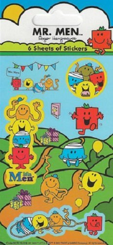 Paper Projects Mr Men Party Pack Stickers by Paper Projects