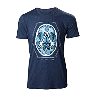 Assassins Creed Assassin's Creed – Find Your Past Brain Crest T-shirt