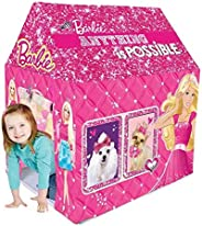 Barbie Kids Play Tent House, Multicolor