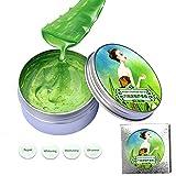 KISSION Aloe Vera Pure Bio Gel Hydratant anti-acne et Freeclimber Cicatrice