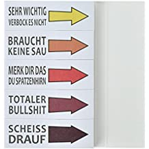 Haftnotizen Lustig Studenten Block Sticky Notes 5 Blöcke 50 Blatt Streifen Page Marker Textstreifen Klebezettel