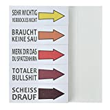 Haftnotizen Lustig Studenten Block Sticky Notes 5 Blöcke 50 Blatt