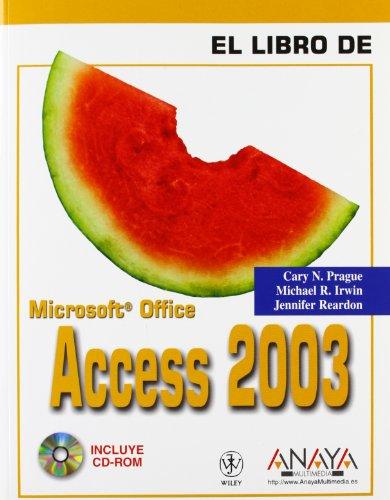 Access 2003 (El Libro De)