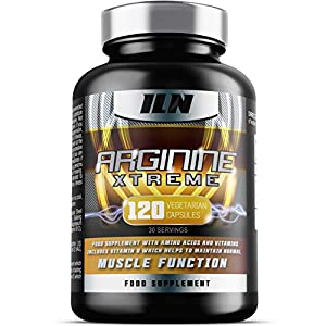 51WLXSEDybL. SS300  - Iron Labs Nutrition, Arginine Xtreme - 2,600mg x 30 Day Supply - L-Arginine Supplement with Vitamin D for Normal Muscle…