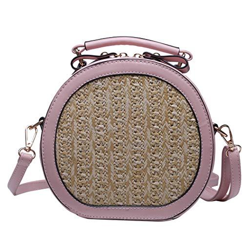 OIKAY Mode Damen Tasche Handtasche, Schultertasche Umhängetasche Mode Neue Handtasche Frauen Umhängetasche Schultertasche Strand Elegant Tasche Mädchen 0410@036