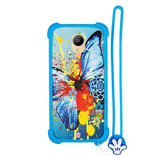 Hülle für elephone p25 hülle Silikon Grenze + PC hart backplane Schutzhülle Case Cover HD